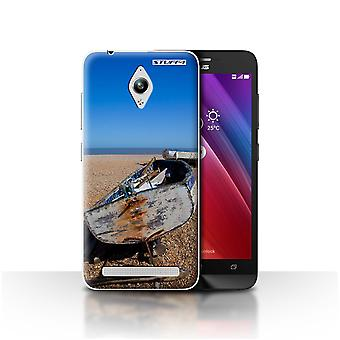 STUFF4 Case/Cover for Asus Zenfone Go ZC500TG/Old Boat/British Coast