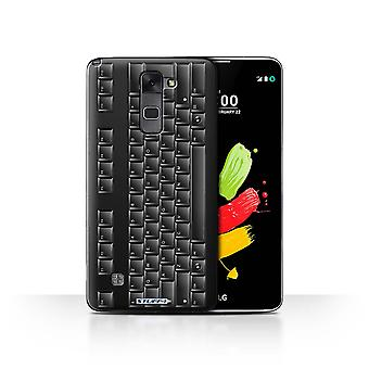STUFF4 Case/Cover for LG Stylus 2/K520/PC Keyboard/Black/Keys/Buttons