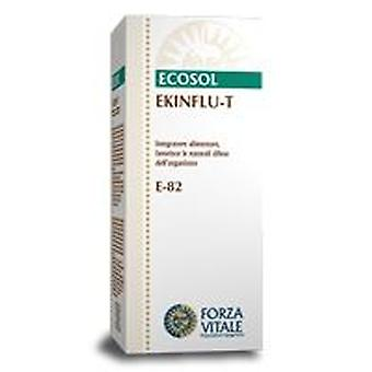 Forza Vitale Ekinflu-T Bumpers 25Gr.comprimidos (Herbalist's , Natural extracts)