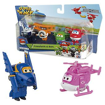 Colorbaby Figure Superwings Transformable Pack 4 Figures