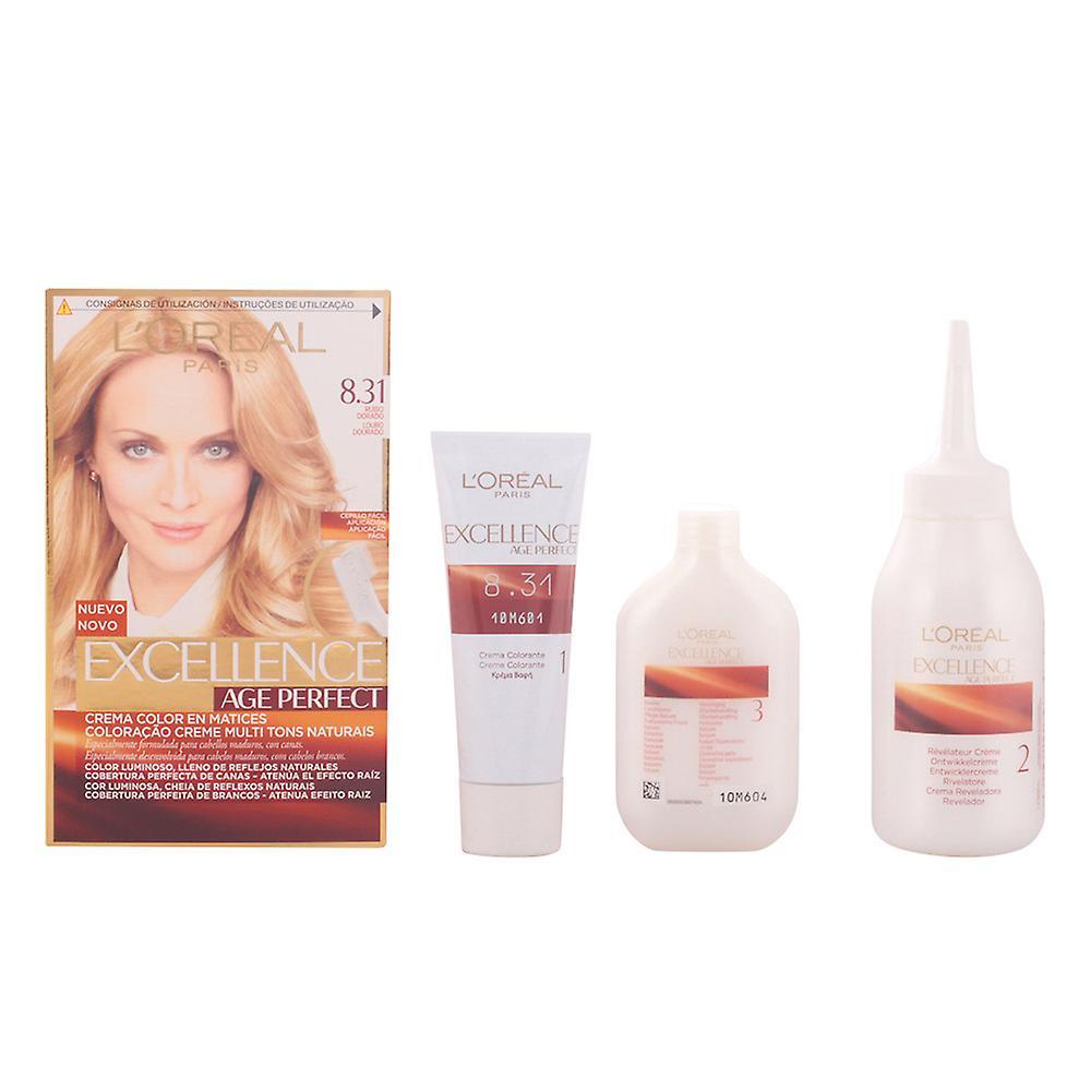 Maquillage Parfait Unisexe Dorado 31 Rubio L'oréal Excellence Âge Tinte8 67gbfyY