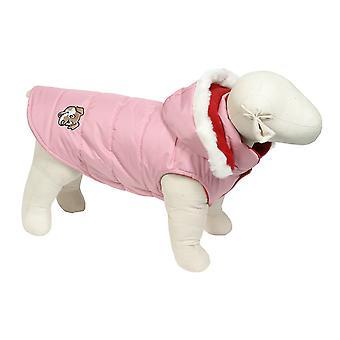Doggy ting Puffa jakke Pink Medium 42cm