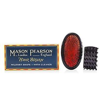 Mason Pearson Boar Bristle - Sensitive Military Pure Bristle Medium Size Hair Brush (Dark Ruby) - 1pc