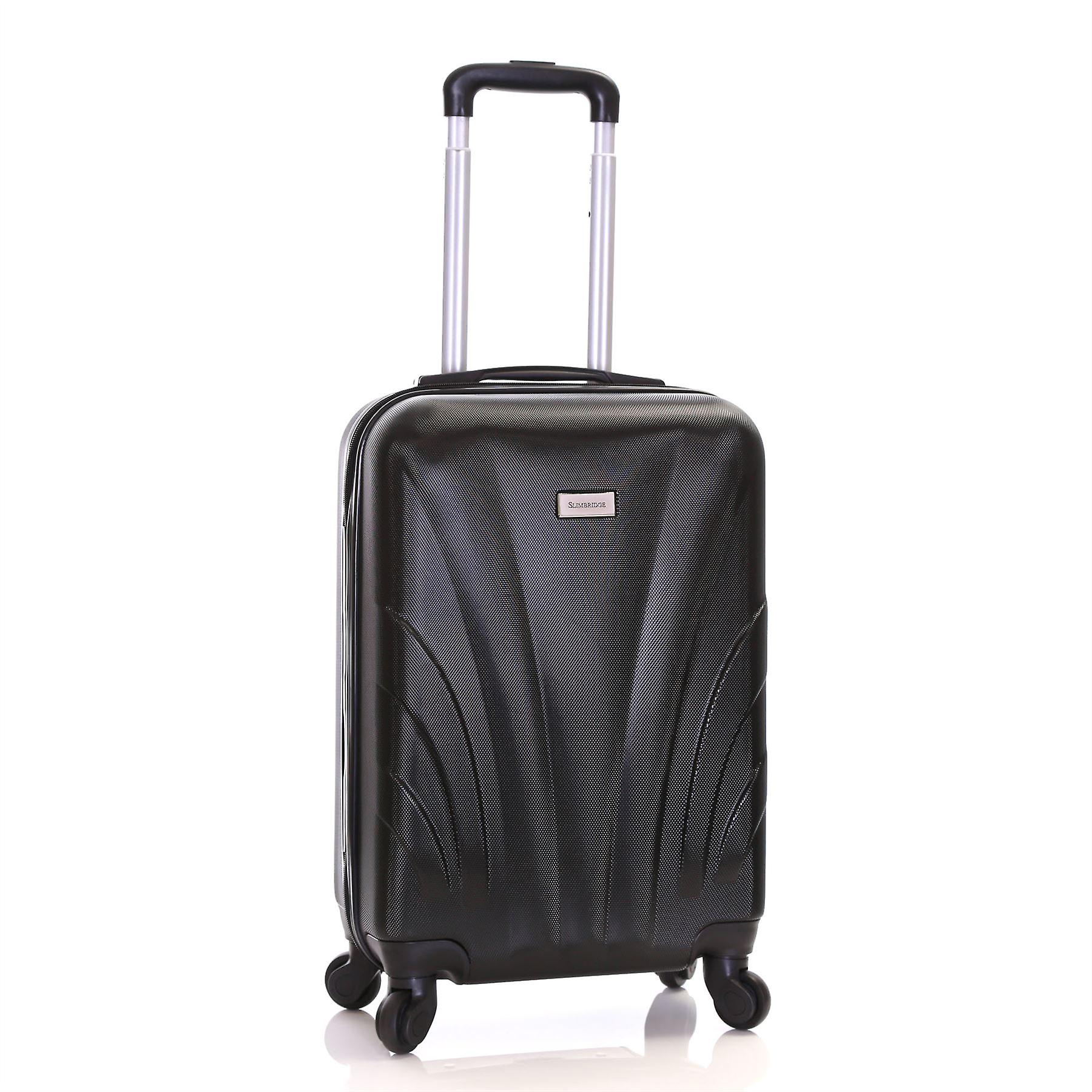 Slimbridge Ferro 55 cm Hard Suitcase, Black