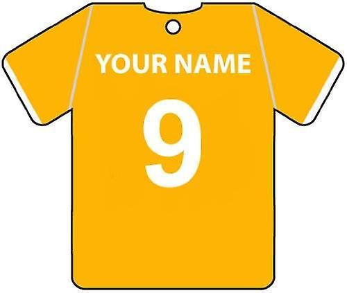 Personlig Blackpool fotball skjorte bil Air Freshener