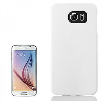 Hard case rubber white sleeve for Samsung Galaxy S6 G920 G920F