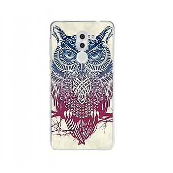Vintage tribal cover uil voor Huawei Honor 6 x