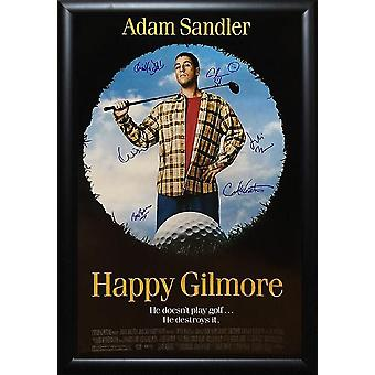 Happy Gilmore - Signed Movie Poster