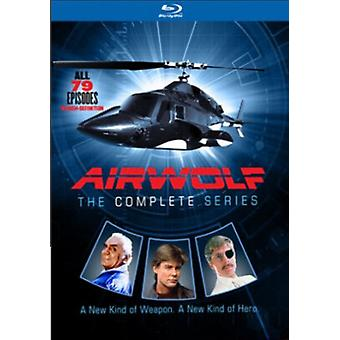 Airwolf: Hele serien [Blu-ray] USA importerer