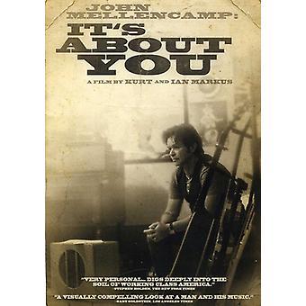 John Mellencamp: Het is About You [DVD] USA import
