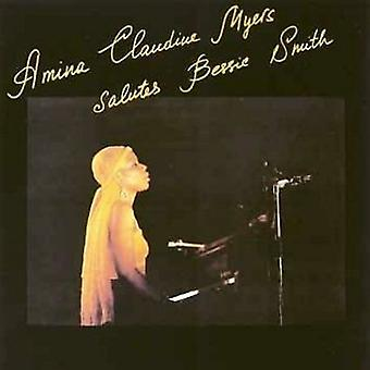 Amina Claudine Myers - hylder Bessie Smith [CD] USA importerer