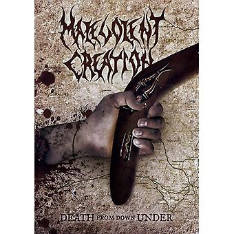 Malevolent Creation - død fra Downunder [DVD] USA import