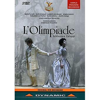 B. Galuppi - importación de USA de L' Olimpiade [DVD]