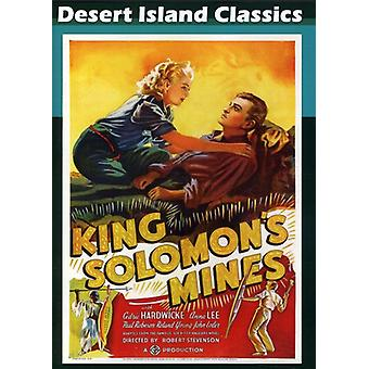 King Solomon's Mines (1937) [DVD] USA importerer