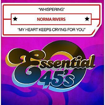Norma Rivers - Whispering/My corazón sigue llorando por ti [CD] USA importar