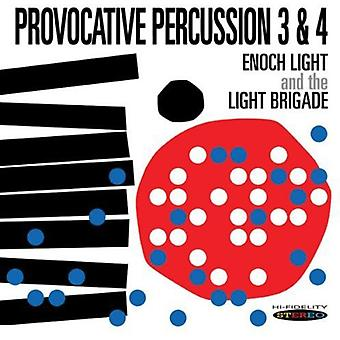 Enoch Light & the Light Brigade - Provocative Percussion 3 & 4 [CD] USA import