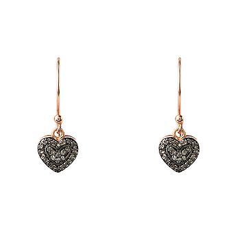 Diamant Petite hart Drop Earrings