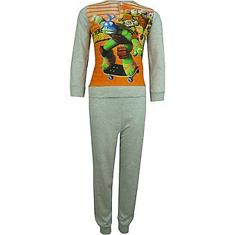 Boys Nickelodeon Ninja Turtles Long Sleeve Pyjama Set Packed in The Box