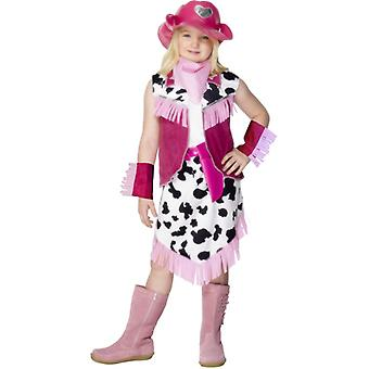 Cowboy costume cowboy Cowgirl costume kids PINK