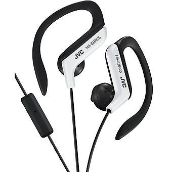 Sport stil JVC i-øret hovedtelefoner med 1-nøgler-FB og mikro - hvid sort