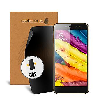 Celicious Privacy Nubia N1 Lite 2-Way Visual Black Out Screen Protector