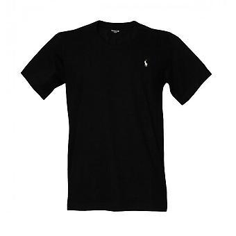 Polo Ralph Lauren Jersey katoen bemanning hals T-Shirt, zwart