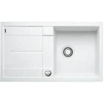 Blanco Metra 5S-F sink white automatic valve