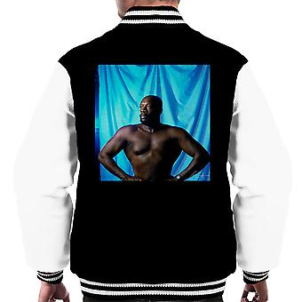 Isaac Hayes Topless Men's Varsity Jacket