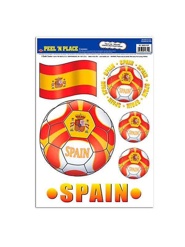 Spain Peel 'n' Place Removable Stickers