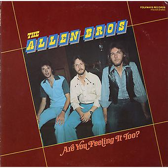 Allen Brothers - Are You Feeling It Too? [CD] USA import