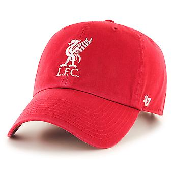 47 Brand Epl Liverpool FC Clean Up Cap - Red