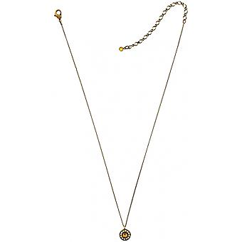 KONPLOTT necklace with pendant of the series spell on you gold/clear