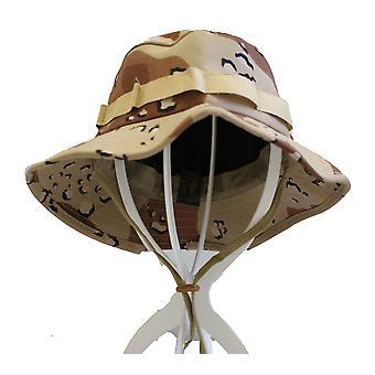 العسكري الأمريكي الأصلي بوش القبعة
