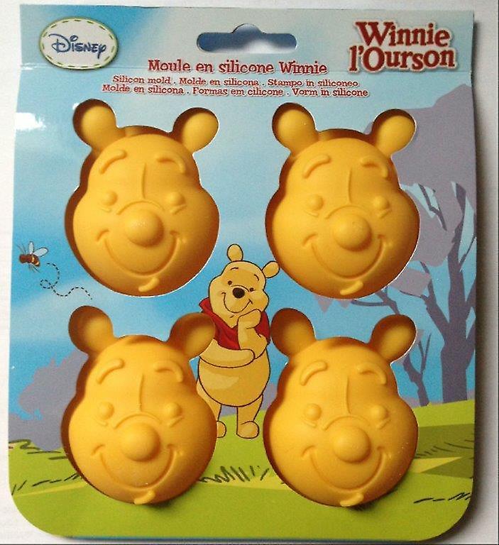 Disney Winnie the Pooh Stampini Sagomati in Silicone