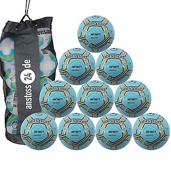 10 x Uhlsport youth ball - INFINITY 350 LITE 2.0 includes ball sack