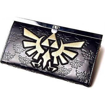 NINTENDO LEGEND OF ZELDA meisjes gouden Link Logo portemonnee Tasche schwarz (GW169641NTN)