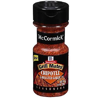 McCormick Grill Mates Chipotle & Roasted Garlic Seasoning 2.5 oz Bottle
