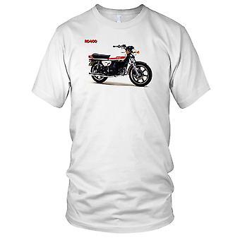 Yamaha RD400 Classic Motorbike Biker Mens T Shirt