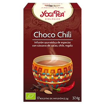 Yogi Tea Bio We Choco Chili 17 Bags (Herbalist's , Teas)