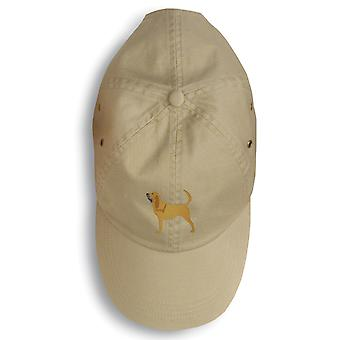 Carolines Treasures  BB3384BU-156 Bloodhound Embroidered Baseball Cap