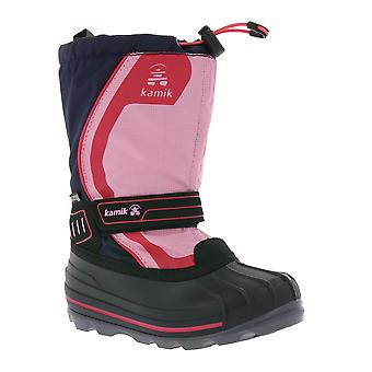 Kamik Snowcoast 4 shoes kids winter boots snow shoes Navy