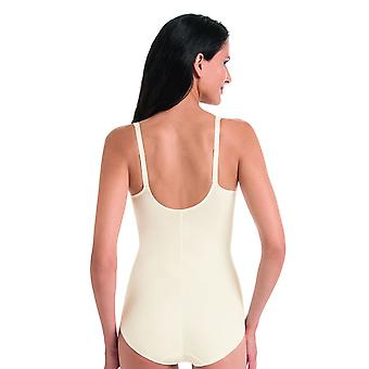 Rosa Faia 3467-612 Women's Charlize Crystal Off-White Embroidered Underwired Bodysuit One Piece Body