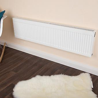 Compact Convector Radiator - Double Panel - Type 21 - White - H300 x W500mm