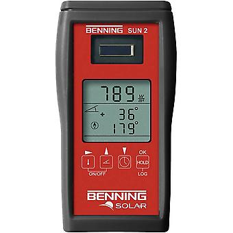 PV multimeter Benning SUN 2 Calibrated to: Manufacturer's standards (no certificate)