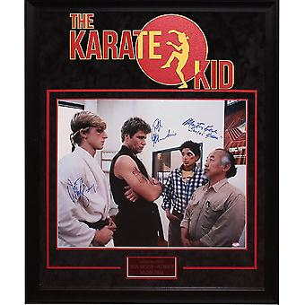The Karate Kid - Signed by Cast - Framed Artist Series