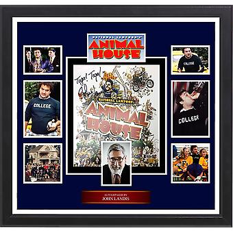 Animal House -  Photo Collage Signed by John Landis