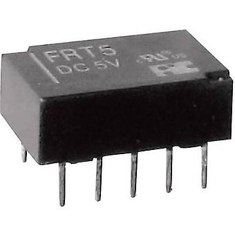 PCB relays 12 Vdc 1 A 2 change-overs FiC FRT5-DC12