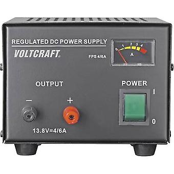 Bench PSU (fixed voltage) VOLTCRAFT FSP-1134 13.8 Vdc 4 A 55 W No. of outputs 1 x