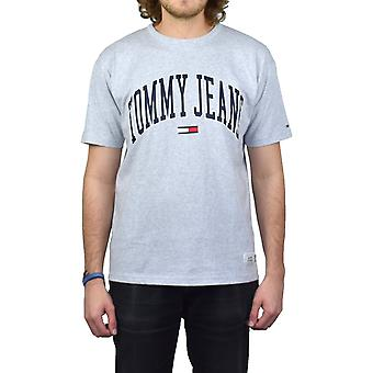 Tommy Jeans Collegiate T-Shirt (Ice Grey Heather)