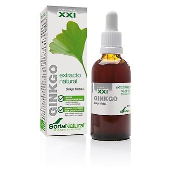 Soria Natural Gingko Biloba Extract 21st Century 50 ml (Herbalist's , Natural extracts)